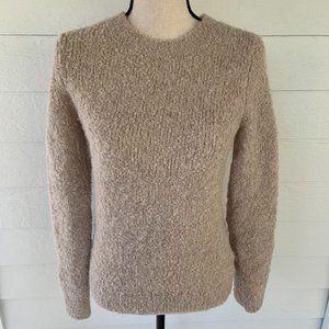 Banana Republic Wool Alpaca Sweater Fuzzy Soft S